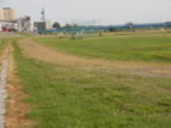 北斗グラウンド(岩木川河川敷公園)